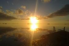 Bellissima alba catturata da Roberto Are.