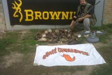 carniere Mirco Browning e quackers