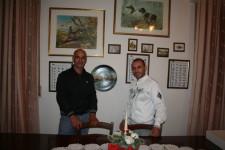 Sergio e Lello a casa Costa.
